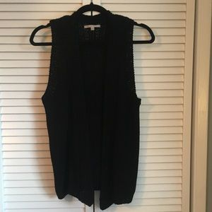 Gap Black Knit Sweater Vest